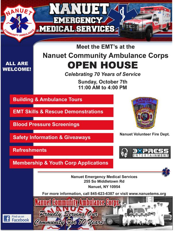 open house scheduled